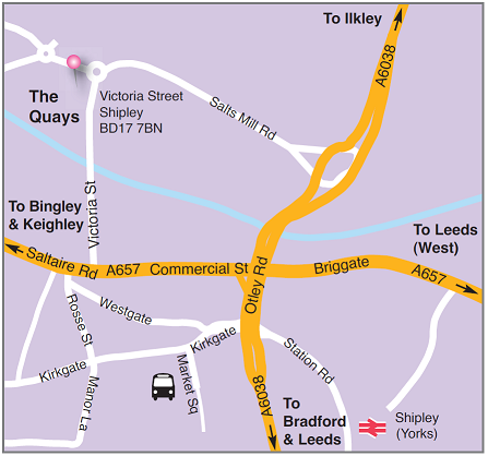 Quays Map