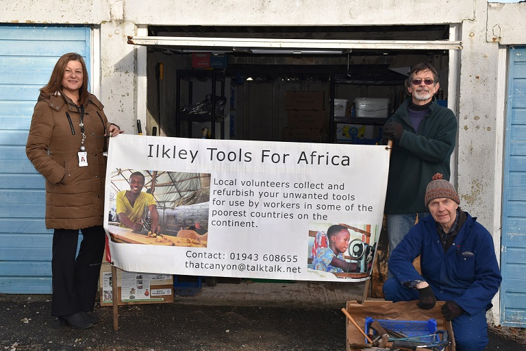 Housing group steps in to help Ilkley 'tool' charity