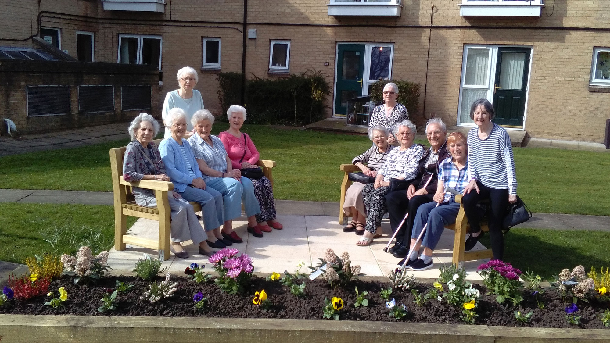 Bingley Residents Welcome New Communal Garden News