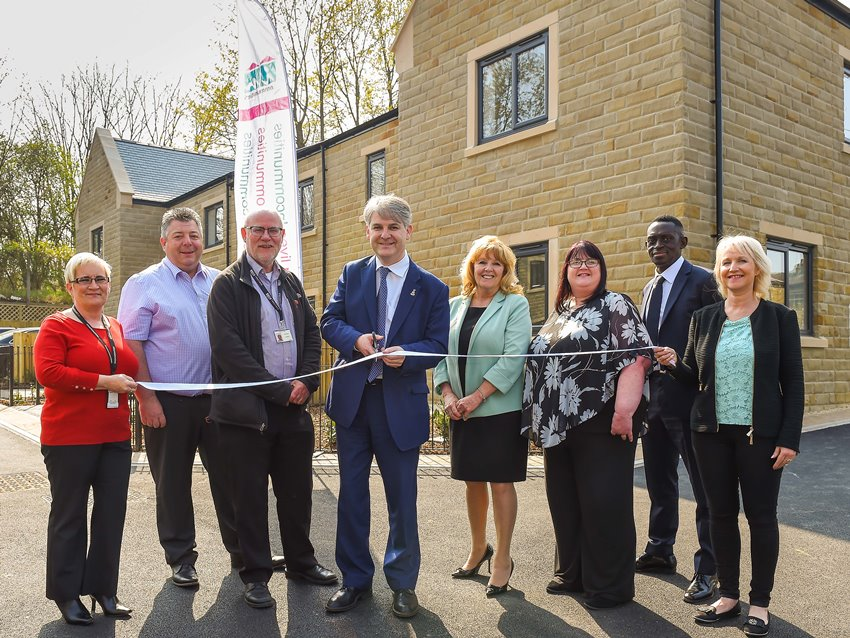 Salts Mews new build homes opening