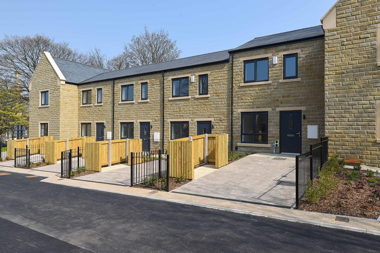 New build homes at Saltaire, Shipley