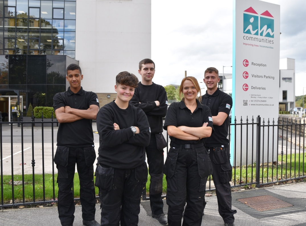 Newly recruited trades apprentices