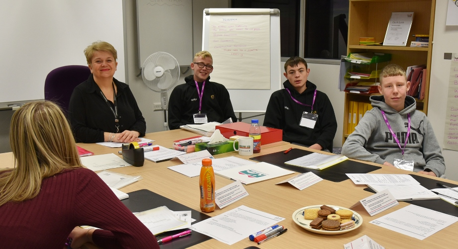 Students take part in employability training