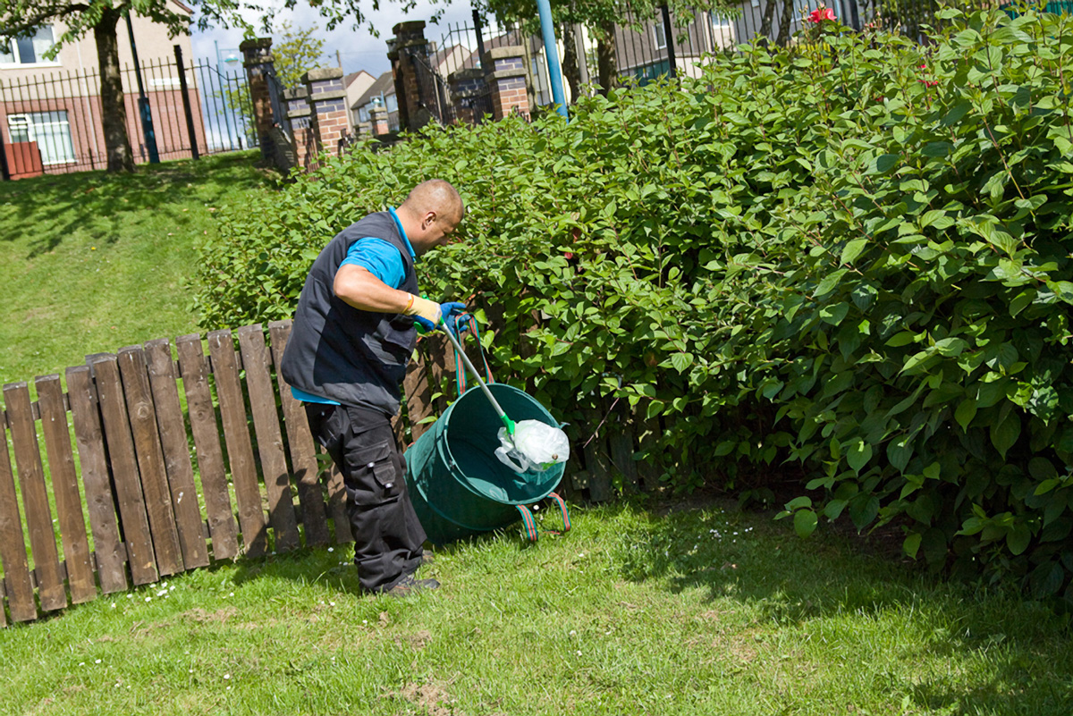Estate Services Garden Clean Team